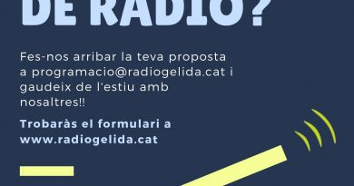 Aquest estiu… vine a fer ràdio!!