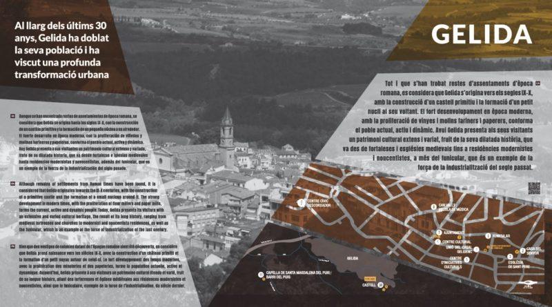 Renovació de la senyalització del patrimoni arquitectònic de Gelida